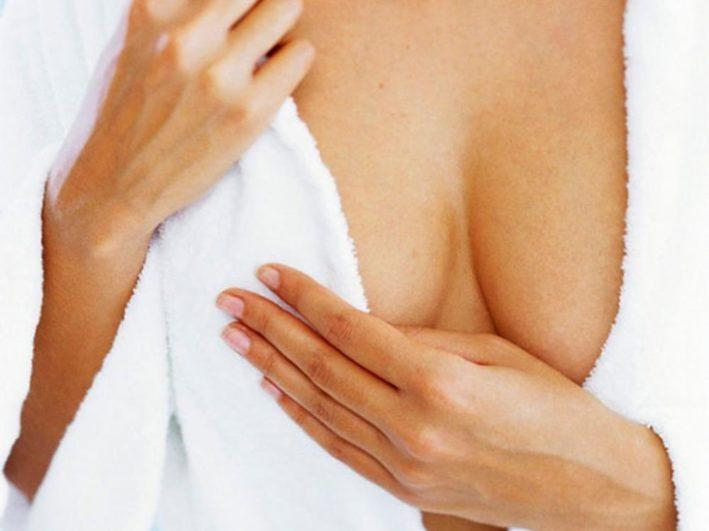 Диффузная фиброзная мастопатия левой молочной железы