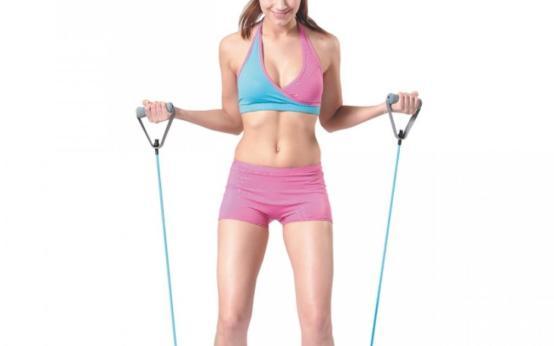 Эспандер для женщин: упражнения и домашние тренировки