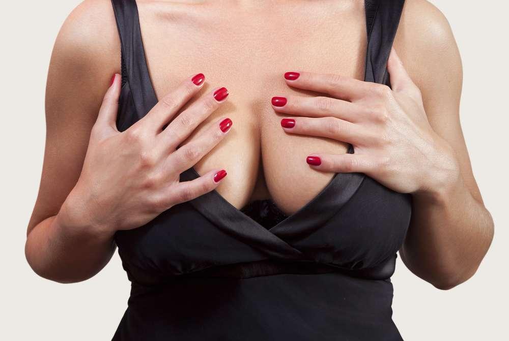Горячая грудь