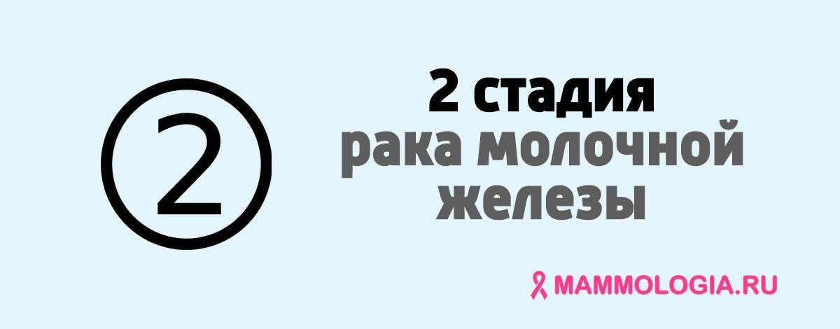 2 стадия рака молочной железы