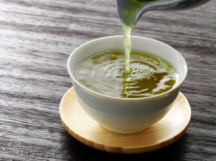 сколько пуринов в зеленом чае