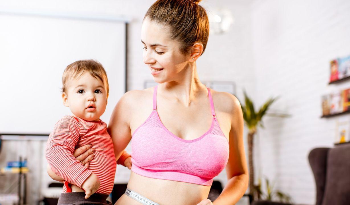 Как кормящей женщине похудеть