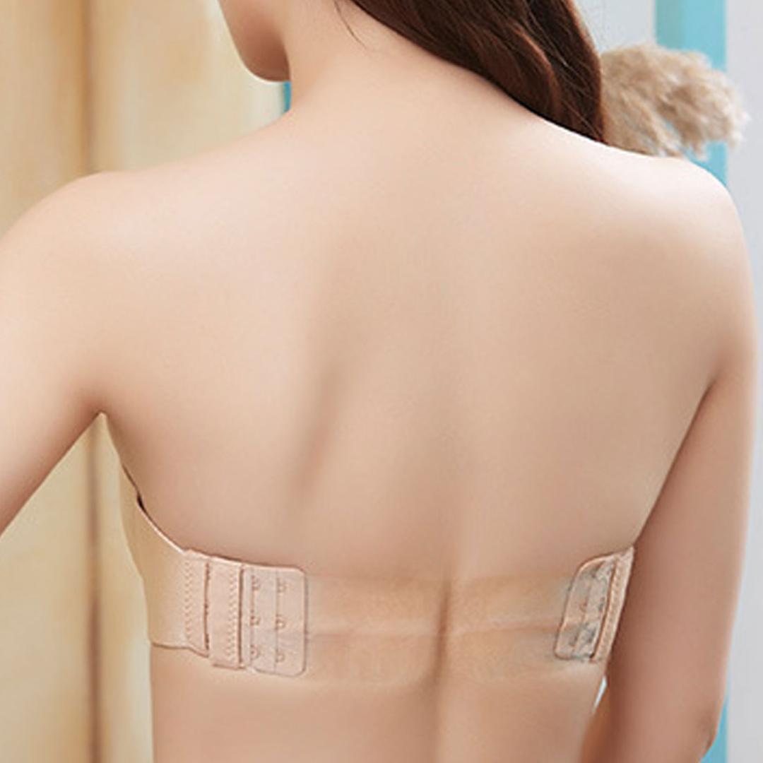 Бюстгальтер с силиконовой спиной
