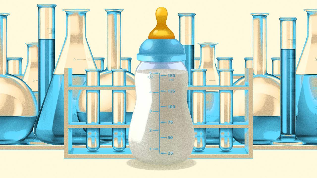Компоненты грудного молока улучшают мыслительные способности